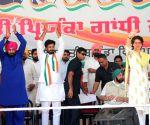 Priyanka Gandhi Vadra at Congress rally