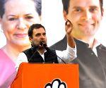 Rahul Gandhi holds public meeting at Kondli ahead of Delhi Polls 2020