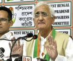 Salman Khurshid's press conference