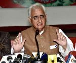 We can't talk to Mamata until it stops efforts to suppress us: Salman Khurshid