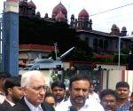 Salman Khurshid at Telangana High Court