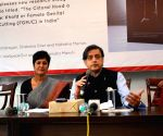 "Shashi Tharoor releases ""The Clitoral Hood a Contested Site: Khafd or Female Genital Mutilation/Cutting(FGM/C)"