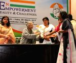 Sheila Dikshit during Congress' International Women's Day programme