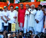 Congress protest against the price hike