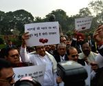 Congress protest over onion prices