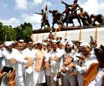 Congress observes 77th anniversary of August Kranti Diwas