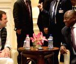 Congress leaders meet South African President
