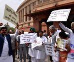 Parliament - Congress legislators' protest