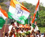 2019 Lok Sabha elections - Congress' Rizwan Harshad on his way to file nomination