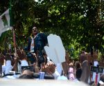 2019 Lok Sabha polls: Sanjay Nirupam on his way to file nomination paper
