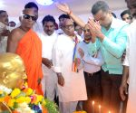 B.R. Ambedkar's birth anniversary - Milind Deora, Eknath Gaikwad