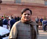 Court seeks Ahmad Patel;s response in Karbala dispute