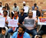 Congress holds protest against Narendra Modi-led Central Govt in Australia