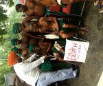 Farmers' demonstration- Gurjeet Singh Aujla
