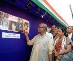 Pradip Bhattacharya during a photo exhibition