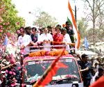Amethi (Uttar Pradesh): 2019 Lok Sabha polls: Rahul Gandhi on his way to file nomination