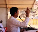 Rahul Gandhi at Congress rally in Madhya Pradesh