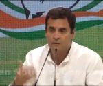 Rahul Gandhi's press conference