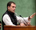 Congress Parliamentary meeting
