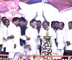 Hospet (Karnataka): Congress rally - Rahul Gandhi