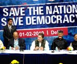 "Save The Nation Save Democracy"" - Rahul Gandhi"