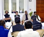Rahul Gandhi meets Telangana Congress leaders