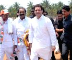 Rahul Gandhi during a party rally