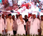 Rahul Gandhi during a Congress rally