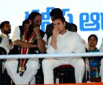 Rahul Gandhi addresses public meeting in Telangana