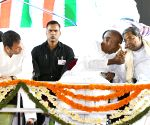 Deve Gowda, Rahul and Siddaramaiah during election campaign