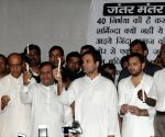 RJD's candle light march against Muzaffarpur shelter abuse case