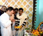 Rahul Gandhi pays tribute to martyr Pradeep Kumar in UP