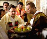 Rahul Gandhi visits Chamundeshwari Temple
