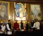 Tribute to former Prime Minister Indira Gandhi on her birth anniversary at Parliament House