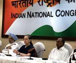 Congress Working Committee meeting