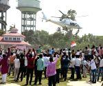 Rahul Gandhi's public rally in Bihar