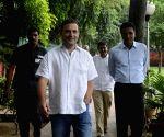 Rahul Gandhi at Congress office