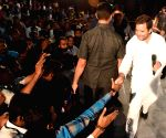Rahul Gandhi interacts with students