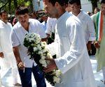 Rahul Gandhi pays tribute to martyr Swahid Kushal Konwar