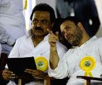 Karunanidhi's birthday celebrations - Rahul Gandhi
