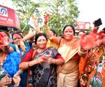 Yeddyurappa steps down, Congress workers celebrate