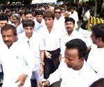 Congress demonstration against Dalit Assault Case at Una