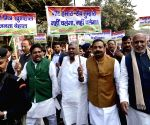 Congress demonstration against demonetisation