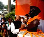 Congress workers pay tributes to Dr Rajendra Prasad on his birth anniversary