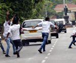 Radha Mohan Singh shown black flags in Odisha amid MP peasant stir