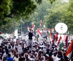 Congress demonstration against Smriti Irani