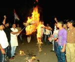 Congress demonstration against PM Modi