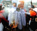 Congress demonstration against demonetisation