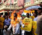Congress demonstration against spread of diarrhoea
