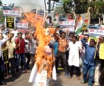 Congress demonstration against Central Government